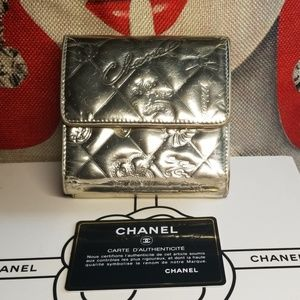 Authentic Chanel Monaco Biarritz wallet